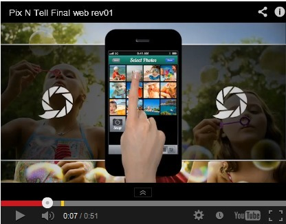 Pixntell - Create Beautiful Slideshows on Your iPhone or iPad | mobile learning BYOD | Scoop.it