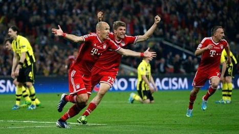Bayern pakt Champions League na late goal Robben (week 21) | sport | Scoop.it