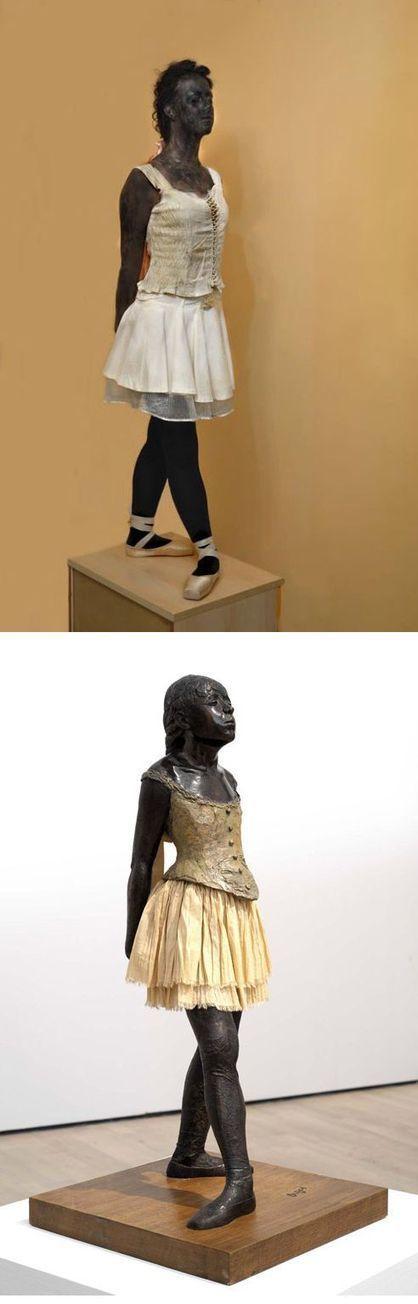 É isso aí, campeão!: Obras de arte readaptadas na realidade (16 ... | Estética da Mídia | Scoop.it