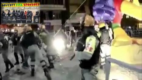 Video: Βρώμικες φανέλες με αίμα από Φαβέλες   antifa   Scoop.it
