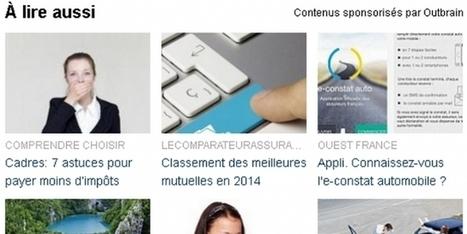 Le Groupe Le Monde déploie la technologie Outbrain sur l'ensemble de ses sites | Mediapeps | Scoop.it