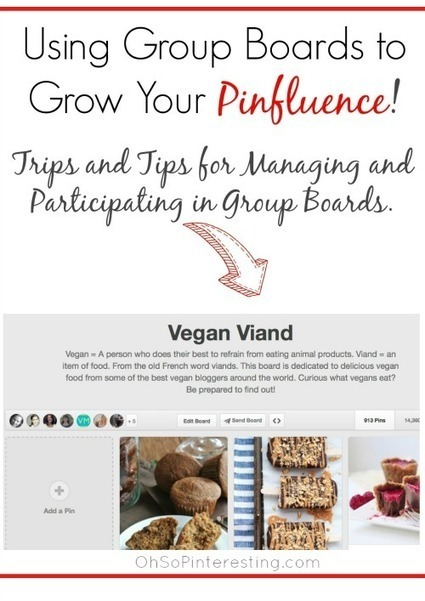 Using Group Pinterest Boards to Grow Your Pinfluence - | Pinterest | Scoop.it
