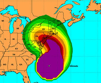 Why Sandy Has Meteorologists Scared in 4 Images | Globicate - Global Education for a New Generation | Scoop.it