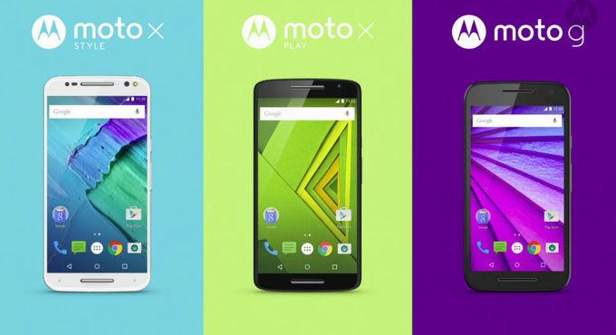Motorola nos presenta su nueva hornada de smartphones para 2015.