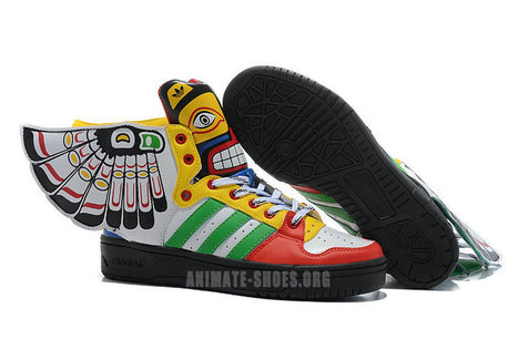 Adidas Indian Style JS Wings Shoes/Jeremy Scott Adidas Wings Indian Style | Salesneaker | Scoop.it