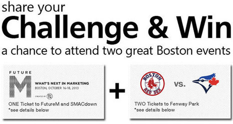 Share your Challenge & Win | SMACdown at FutureM | Ayantek's User Experience Design Digest | Scoop.it