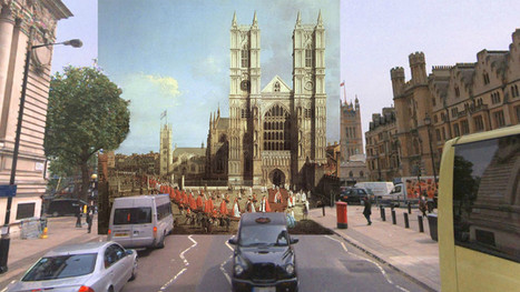 Impressive images mix classic paintings and modern London street views   Cool Gadgets   Scoop.it