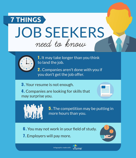 14 Things Every Job Seeker and Recruiter Must Know | 212 Careers | Scoop.it