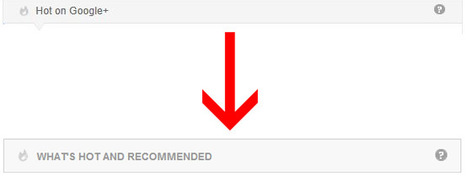 Are 'Hot' Google+ Posts More Targeted Since They're Also 'Recommended?' | Digital-News on Scoop.it today | Scoop.it
