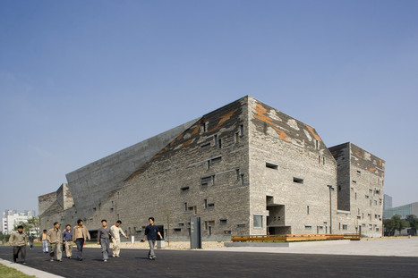 Wang Shu's Ningbo History Museum built from the REMAINS of demolished villages | The Architecture of the City | Scoop.it