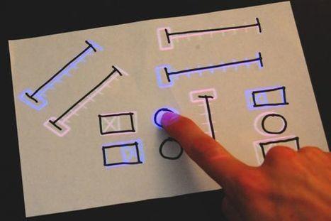 Créer une interface tactile sur un bout de papier  / étapes: design & culture visuelle | Tendances : technologie | Scoop.it