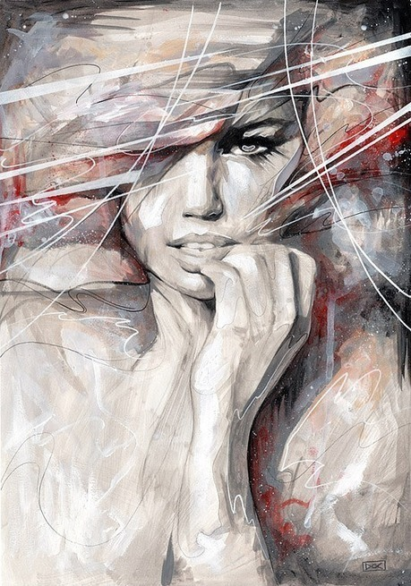Stunning Illustrations by Danny O'Connor | Cruzine | Art Works | Scoop.it