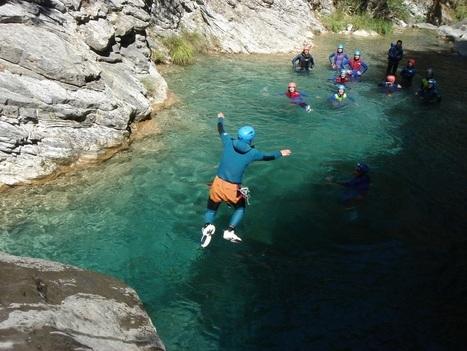 Le canyoning : une activité en vogue dans les Pyrénées | Christian Portello | Scoop.it