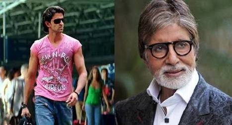 Amitabh Bachchan to join Hrithik Roshan for 'Dhoom 4' | Entertainment News | Scoop.it