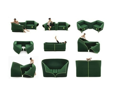 Unique Italian Transformers Sofa by Emanuele MaginiNet Interior Project | IMMOBILIER 2014 | Scoop.it