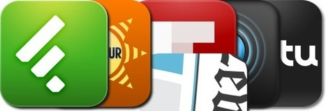 RSS Readers For The iPad: iPad/iPhone Apps AppGuide | CAU | Scoop.it
