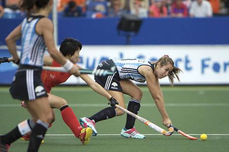 WOMEN Pool B: Las Leonas reach World Cup semi-finals   Hockey World Championship 2014   Scoop.it