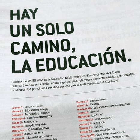Serie: Hay un solo camino, la Educación (Capítulo I) | EDU + TIC | Scoop.it