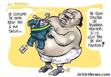 ⚖ Gabon: un dessin de presse illustrant Ali Bongo le pourri de la Françafrique | Actualités Afrique | Scoop.it