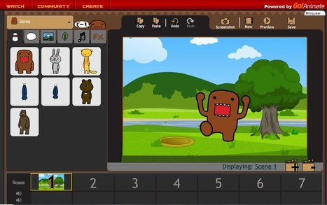 Domo Animate - Create animations [FREE] | ICTools | Scoop.it