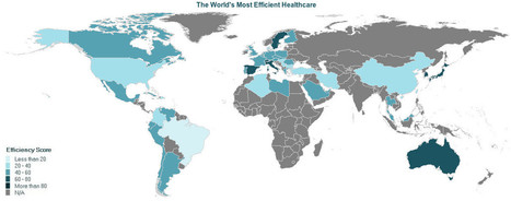 INFOGRAPHIC: The Most Efficient Healthcare In The World | Health Issues | Scoop.it