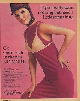 A Slip of a Girl: No Bra, No Way? Vintage Rudi Gernreich Lingerie | Antiques & Vintage Collectibles | Scoop.it