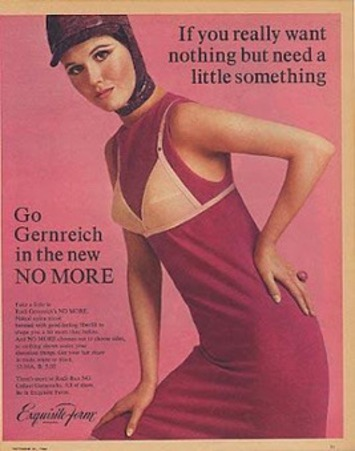 A Slip of a Girl: No Bra, No Way? Vintage Rudi Gernreich Lingerie | A Marketing Mix | Scoop.it
