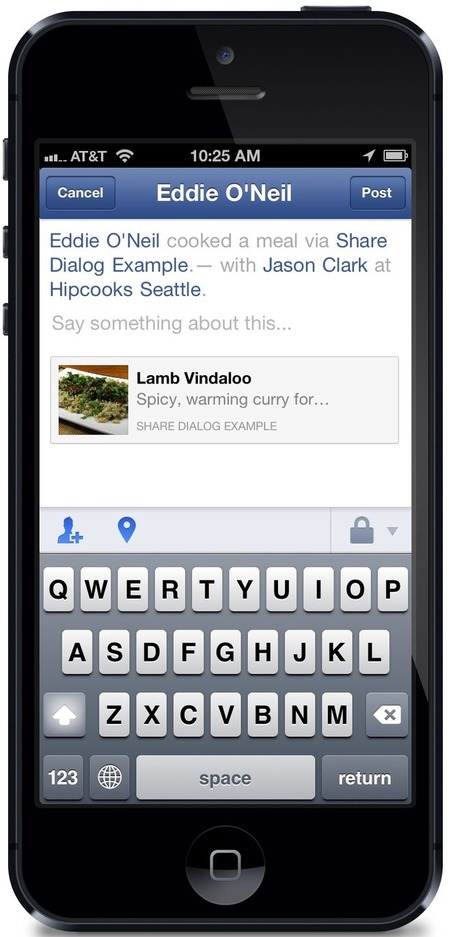 Facebook simplifies sharing for iOS apps - CNET | DISCOVERING SOCIAL MEDIA | Scoop.it