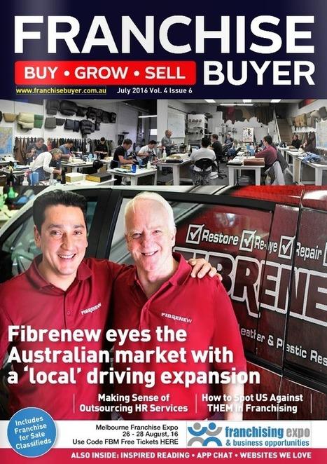 Fibrenew Opens Australian Master Franchise! | Fibrenew Franchising: Mobile Service Business | Franchise Business Opportunities | Scoop.it