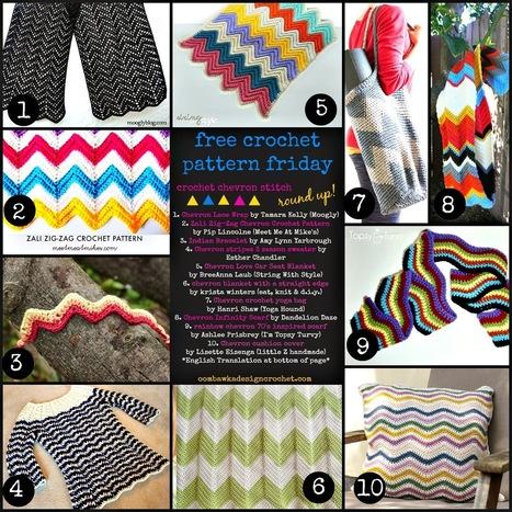 Free Crochet Pattern Friday! Chevrons in Crochet! | Free Crochet Patterns | Scoop.it