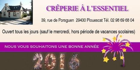 Nous vous présentons nos meilleurs vœux pour cette nouvelle année, depuis Porsguen. #Plouescat #Finistère | Voyages et Gastronomie depuis la Bretagne vers d'autres terroirs | Scoop.it