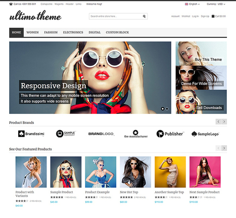 12+ Best Magento Themes 2014 | Awards | eCommerce Website Templates | Scoop.it