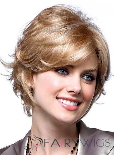 Super Smooth Short Wavy Blonde 10 Inch Remy Hair Wigs : fairywigs.com | Lace Wigs | Scoop.it