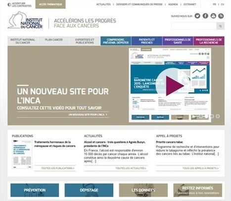 Nouveau site web pour l'Institut national du cancer - Buzz-esanté | Buzz e-sante | Scoop.it