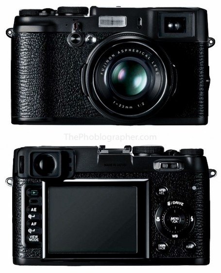"Rumor: all black Fuji X100 coming in early 2012 | ""Cameras, Camcorders, Pictures, HDR, Gadgets, Films, Movies, Landscapes"" 