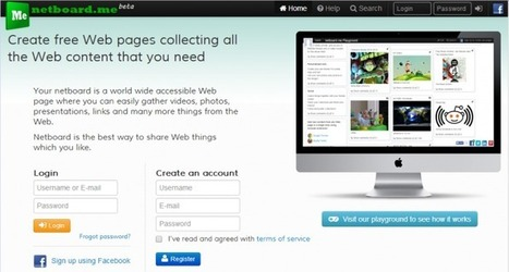 Partagez le web que vous aimez avec Netboard.me | SlyDnet | Des petits outils qui changent la vie ! | Scoop.it