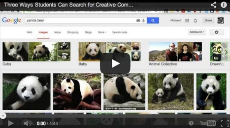 Helping Students Search for Creative Commons Licensed Images: Richard Byrne | TELT | Scoop.it
