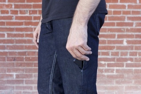 Smartphone Skinny Jeans Created With Today's Tech In Mind [Video] - PSFK | Current Marketing Topics | Scoop.it