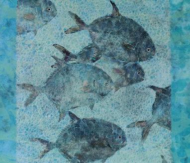 A Celebration of Hawaiian Fine Art Fish Prints | Natural Impressions: A Modern Hawaiian Twist on Japanese Fish Printing | Integrating Art and Science | Scoop.it