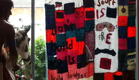 Knitting for change | Yarn Bombing | Scoop.it