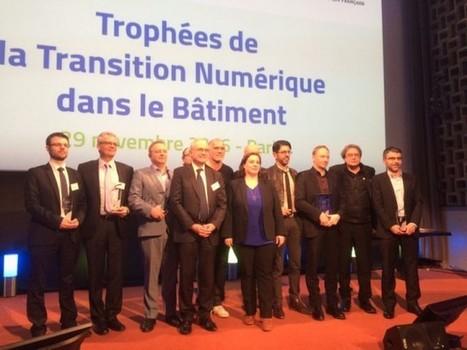Trophées de la Transition Numérique dans le Bâtiment: les lauréats sont...   Génie civil   Scoop.it