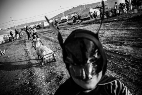 Syrian refugees in Iraq | Photographer: Andy Spyra | BLACK AND WHITE | Scoop.it