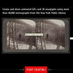 Stereogranimator: Make GIFs & 3D Images From The New York Public Library Image Collection | Techy Stuff | Scoop.it