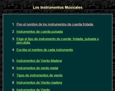 Los Instrumentos Musicales | lenguaje musical | Scoop.it