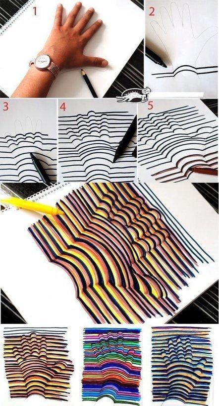 Draw your hand   Geometry High School   Scoop.it