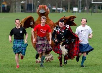 Perth Kilt Run   Culture Scotland   Scoop.it