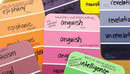 Vocabulary Paint Chips | vocabulary | Scoop.it