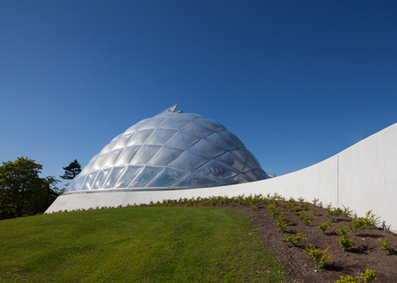 Quilted greenhouse by C. F. Møller inflates to alter light and heat | Sustain Our Earth | Scoop.it