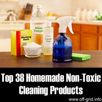 Off-Grid » Top 38 Homemade Non-Toxic Cleaning Products | Paz y bienestar interior para un Mundo Mejor | Scoop.it