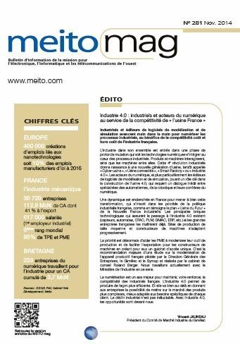 L'usine 4.0 : le numérique booste l'usine | MEITO MAG N° 281 | Portail Veille Economique Bretagne | Scoop.it